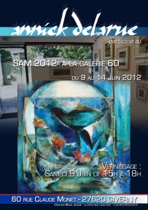Exposition, Giverny,Juin 2012